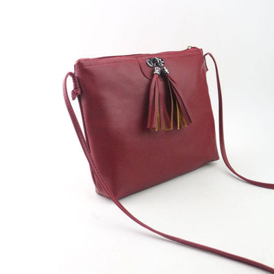 Mooistar2 #3001 Women Fashion Tassel Mini Handbag Shoulder Bag