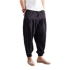 NEW Tied Waist Baggy Sweatpants Men Plus Size Pleated Harem Pants Mens Fashion Solid Kpop Dance Joggers Trousers Pantalon Hombre