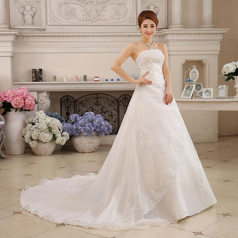 New Summer Style Wedding Bride Long Tail Bra Straps Lace Wedding ...