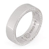 Rings - .925 Sterling Silver Wedding Band (6mm) -   jetcube