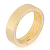 Rings - 14K Gold .925 Sterling Silver Wedding Band (6mm) -   jetcube