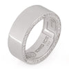 Rings - .925 Sterling Silver Wedding Band (8mm) -   jetcube