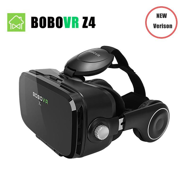 VR/AR Devices - (Ship From RU) BOBOVR Z4 Mini Virtual Reality 3D glasses Cardboard 120 Degrees FOV  VR Box Headset 3D with Bluetooth Remote -   jetcube