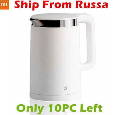 Smart Wristbands - (Ship from RU) Xiaomi Mijia Thermostatic Electric Kettles 1.5L 12 Hours Thermostat kettle Smart Control by Mobile Phone App -   jetcube