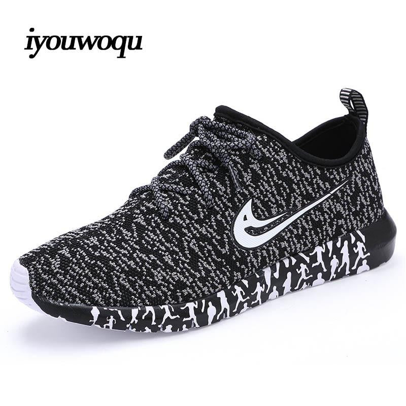 Top Quality 2017 New design Men's Running Shoes Breathable Mesh Outdoor Sport Shoes Plus size 10 Sneakers Man Walking gym shoes
