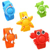 - 1 Pcs Cartoon Silicone Natural Essential Oil Anti Mosquito Repellent Bracelets Baby Infant Children Hand Ring Pest Killer -   jetcube