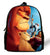 12-inch Simba The Lion King Backpack Kids Boys Cartoon The Lion King School Bags Children Girls Preschool Baby Kindergarten Bag