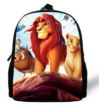 - 12-inch Simba The Lion King Backpack Kids Boys Cartoon The Lion King School Bags Children Girls Preschool Baby Kindergarten Bag - ZC343  jetcube