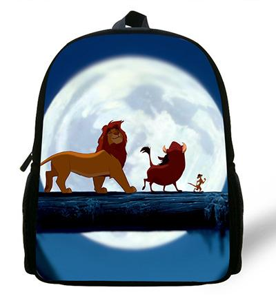 - 12-inch Simba The Lion King Backpack Kids Boys Cartoon The Lion King School Bags Children Girls Preschool Baby Kindergarten Bag - ZC344  jetcube