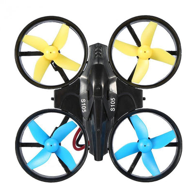 - 2.4GHz Mini RC Drone Quadcopter Headless Mode Helicopter 360 Roll RC Drone One Key Return RC Quadcopter Toy without Camera -   jetcube