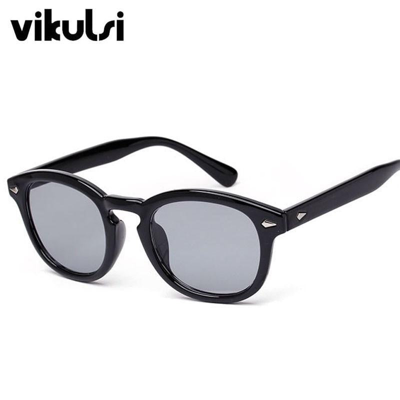 Vikulsi Super Star Sunglass Men  Vintage Fashion Sunglasses Women   Johnny De...