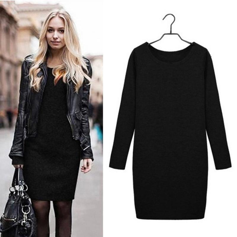 Vintage Bandage Plus Size Dress Winter Autumn Dresses Cotton Long