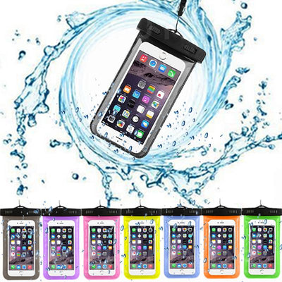 best website d2af5 e4a32 Waterproof Case For Xiaomi Redmi 4X 4A 3X / Note 1 2 3 4 4X 4G / 3 Pro / 2  4 Prime Universal Mobile Phone Bag Swimming Case