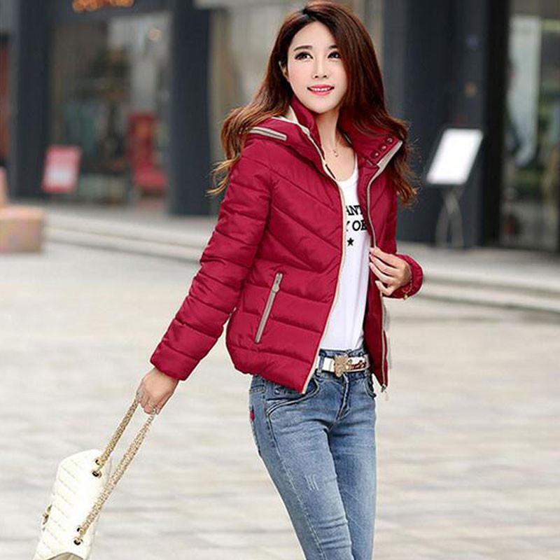 Winter Coat Women Hooded Cotton Down Jacket Snow Wear Parka Jaqueta Feminina Chaquetas Mujer Casacos De Inverno Feminino SY516