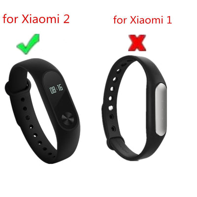 Smart Wristbands - (XM2HS) SMP-008 Replace Strap for Xiaomi Mi Band 2,Silicone Wristbands for Mi Band 2 Accessories -   jetcube