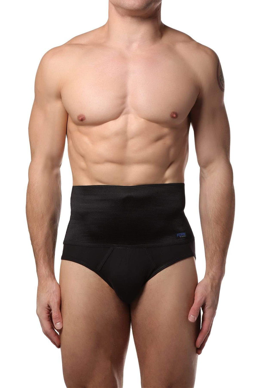 Briefs - 2(X)IST Black 6 Inch Shaper Brief -   jetcube