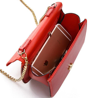 Shoulder Bags - !evening bag Peach Heart bag women pu leather handbag Chain Shoulder Bag messenger bag fashion women clutches YK40-906 -   jetcube