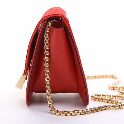 !evening bag Peach Heart bag women pu leather handbag Chain Shoulder Bag messenger bag fashion women clutches YK40-906 - Jetcube