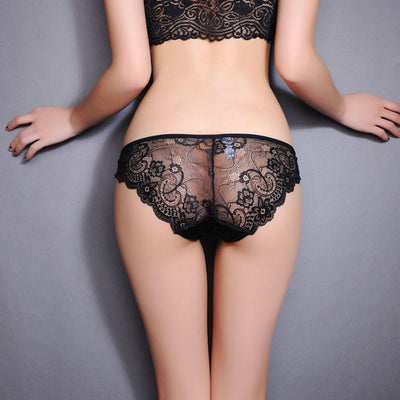 iiiher Brand Quality Ice Silk Fabric Ultra-Thin Lace Sexy Underwear Women Seamless Panties For Women Sexy Briefs Women Calcinha