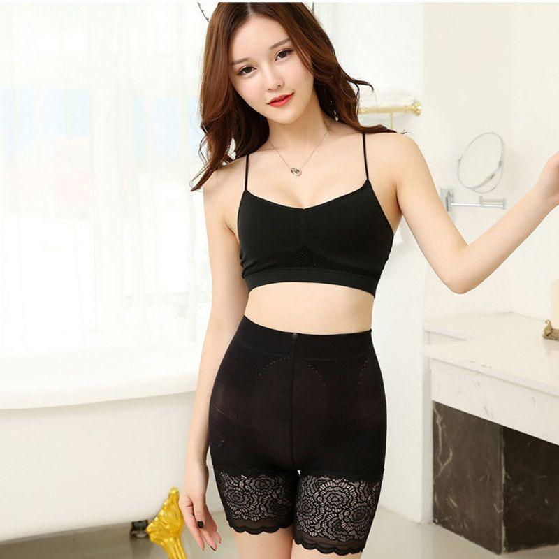 lady lace short women sexy summer shorts fashion stretch capris girl black white khaki gray sexy transparent shorts
