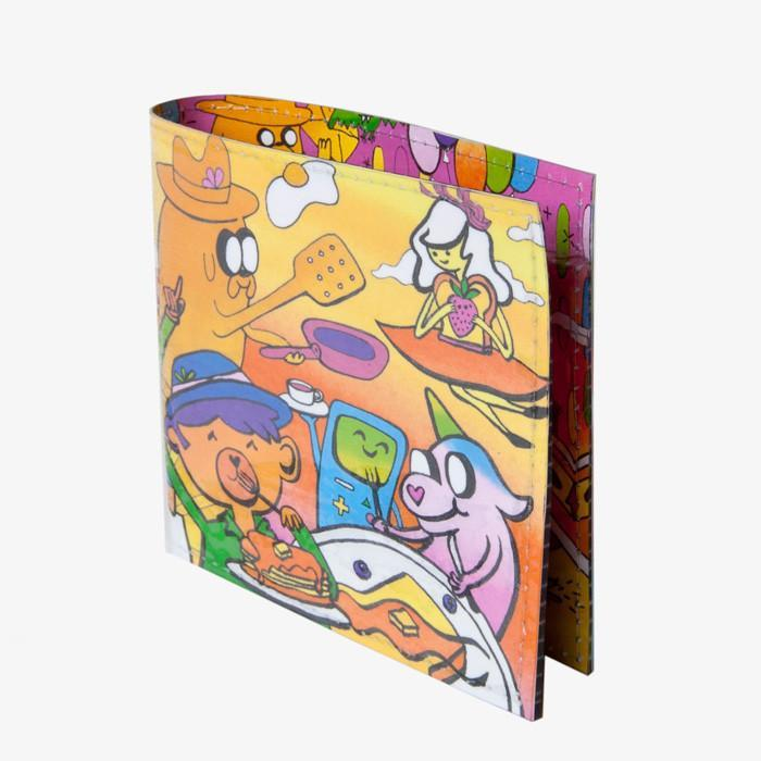 WS Wallets - #3288 - Adventure Time II - Nathalie Roland Wallet 1 -   jetcube
