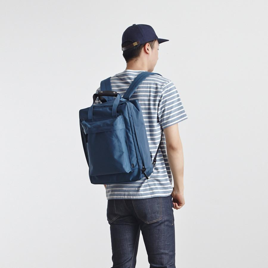 #2213 Voyager Backpack in Marine