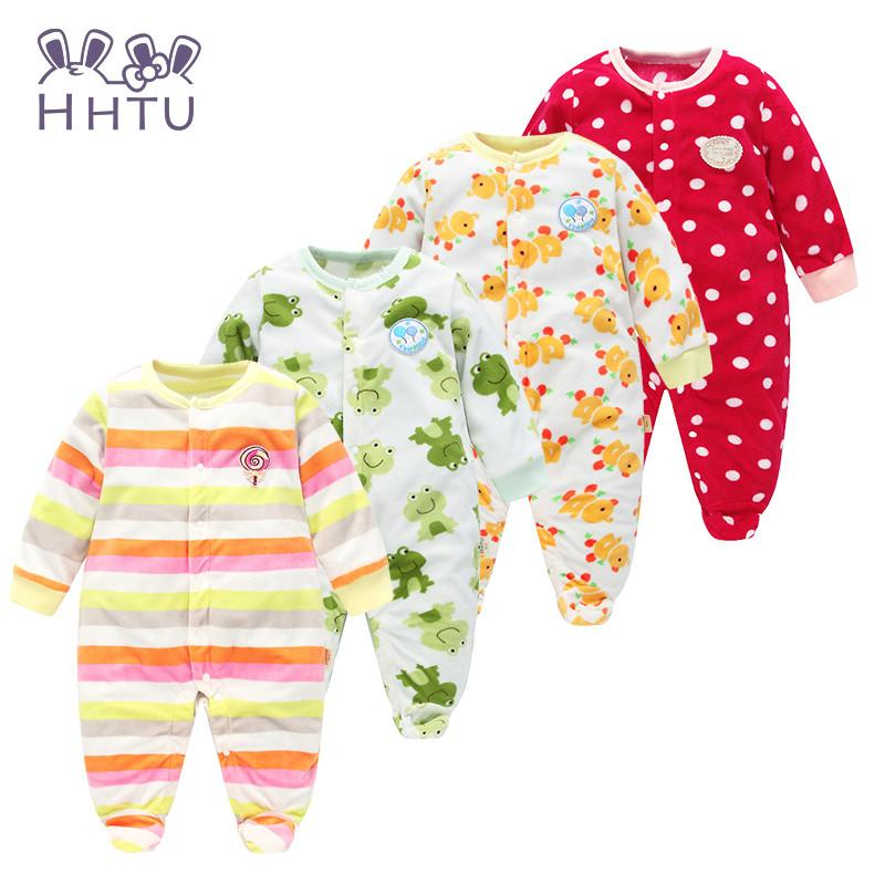 fc67ed8ec5a0 HHTU Autumn Winter Baby Rompers clothes long sleeved coveralls for ...
