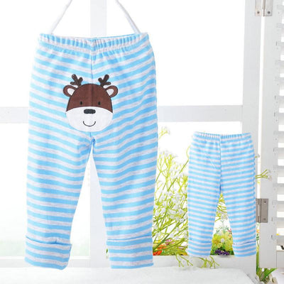 - 0-24M Cute PP Pants 4 Pieces / Lot Baby Trousers Kid Wear Cartoon Boys Girls Infant Toddlers Clothing Creppers Cotton Pant V20 -   jetcube