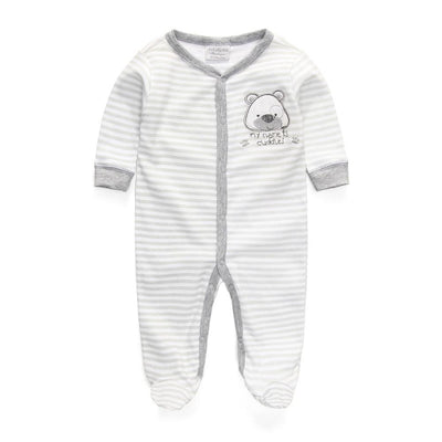 76e6151ba Baby clothing Rompers Foot Cover Baby Girl s Pajamas Romper Newborn ...