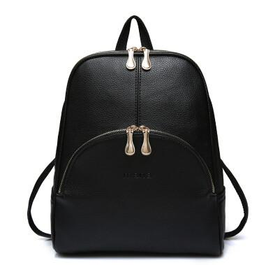 b46657974172 2016 Fashion Backpacks Women PU Leather School Bag Girls Female Candy  Colors Travel Shoulder Bags
