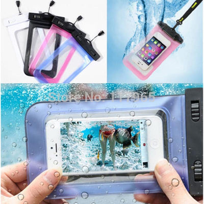 - 100% Sealed PVC Durable Waterproof Bag Phone Cases Pouch For iPhone 6 plus/6/5S/4S For Samsung S2/S3/S4/S5/S6/S7 EC138/EC723 -   jetcube
