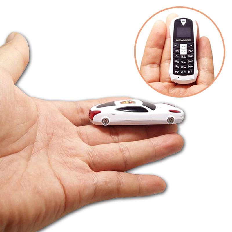 Newmind F1 Qual-band Smallest Car model mini cell phone SOS bluetooth 3.0 dialer FM radio MP3 small mobile phone P097