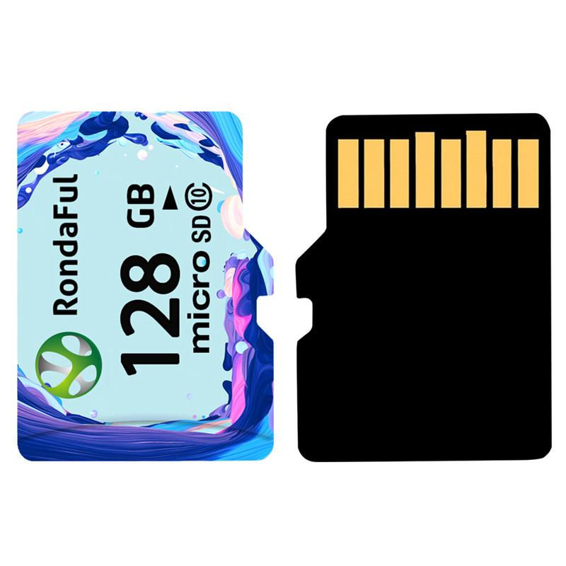 - 1pcs Class10 Microsd Memory Card 8GB 16GB 32GB 64GB 128GB C10 Smartphone micro sd TF card UHS-1 flash camera sd card Rondaful -   jetcube