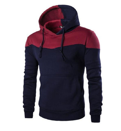 - 2016 Hoodies Men Sudaderas Hombre Hip Hop Mens Brand Hoodie Decorative Pocket Sweatshirt Suit Slim Fit Men Hoody XXL - Navy / M  jetcube