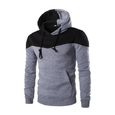- 2016 Hoodies Men Sudaderas Hombre Hip Hop Mens Brand Hoodie Decorative Pocket Sweatshirt Suit Slim Fit Men Hoody XXL - light Grey / M  jetcube