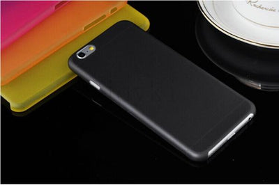 - 0.3 mm Ultra Thin Slim Plastic soft cell phone case For iphone 4 4s 5 5s se 5c 6 6s 6 plus 7 7 plus case Transparent cover - Black / for iphone 4 4s  jetcube