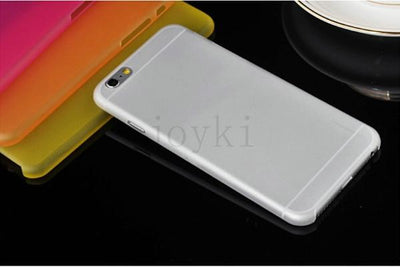 - 0.3 mm Ultra Thin Slim Plastic soft cell phone case For iphone 4 4s 5 5s se 5c 6 6s 6 plus 7 7 plus case Transparent cover - Clear / for iphone 4 4s  jetcube
