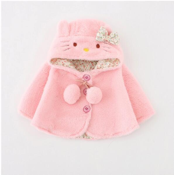 - 0-2 Years Fashion Baby Coat Cotton Thick Winter Warm Girl Clothes Infant Coats For Girls  Jacket Baby-Snowsuit - 05 / 4-6 months  jetcube