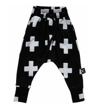 - 0-3Yrs Baby Boys Girls Cross Pants Fashion Infant Haroun Pants New 2015 Baby Clothing Pantalones Autumn Spring 95%Cotton Pant - Black / 19-24 months  jetcube