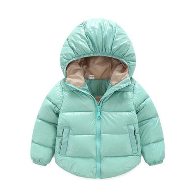 4db554e7d14d 7-24months Winter Newborn Baby Snowsuit Cotton Girls Coats And ...