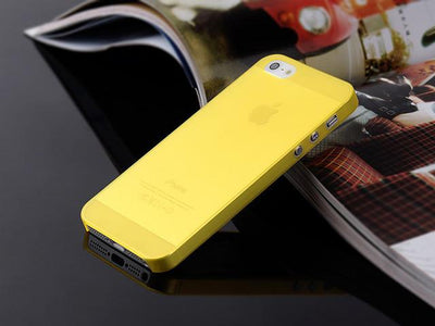 - 1PC Ultra-Thin 0.3MM Cover Bag Case For Apple Iphone 5 5s 6 6s 7 7plus Cases For iPhone5S 4 4s Mobile Phone Protection Shell-PP - 10 yellow / For iPhone 5 5s  jetcube