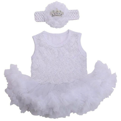 - 0 3 months first birthday girl tutu set newborn clothing baby girl dress formal infant clothes newborn baby girl clothes - 3C2005 / 0-3 months  jetcube