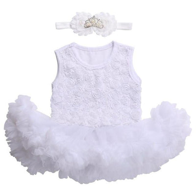 - 0 3 months first birthday girl tutu set newborn clothing baby girl dress formal infant clothes newborn baby girl clothes - 3C2002 / 0-3 months  jetcube