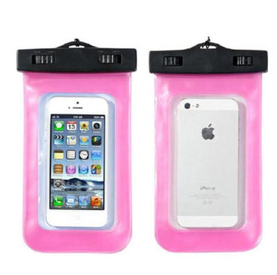 - 100% Sealed PVC Durable Waterproof Bag Phone Cases Pouch For iPhone 6 plus/6/5S/4S For Samsung S2/S3/S4/S5/S6/S7 EC138/EC723 - Pink1  jetcube