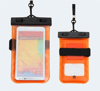 - 100% Sealed PVC Durable Waterproof Bag Phone Cases Pouch For iPhone 6 plus/6/5S/4S For Samsung S2/S3/S4/S5/S6/S7 EC138/EC723 - orange2  jetcube