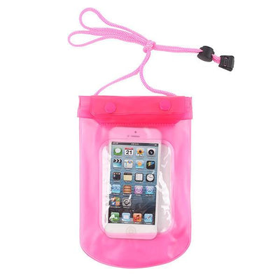 - 100% Sealed PVC Durable Waterproof Bag Phone Cases Pouch For iPhone 6 plus/6/5S/4S For Samsung S2/S3/S4/S5/S6/S7 EC138/EC723 - pink3  jetcube