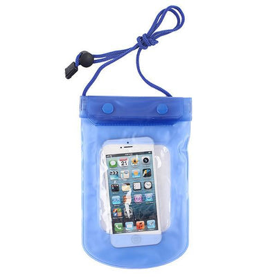 - 100% Sealed PVC Durable Waterproof Bag Phone Cases Pouch For iPhone 6 plus/6/5S/4S For Samsung S2/S3/S4/S5/S6/S7 EC138/EC723 - blue3  jetcube