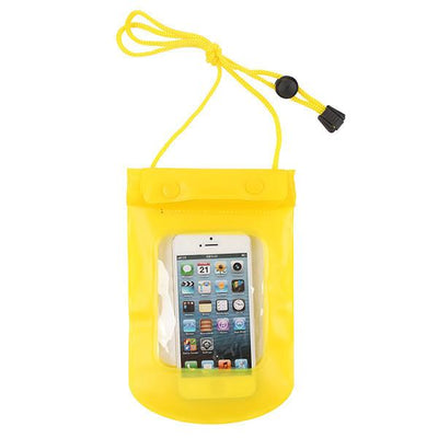 - 100% Sealed PVC Durable Waterproof Bag Phone Cases Pouch For iPhone 6 plus/6/5S/4S For Samsung S2/S3/S4/S5/S6/S7 EC138/EC723 - yellow3  jetcube