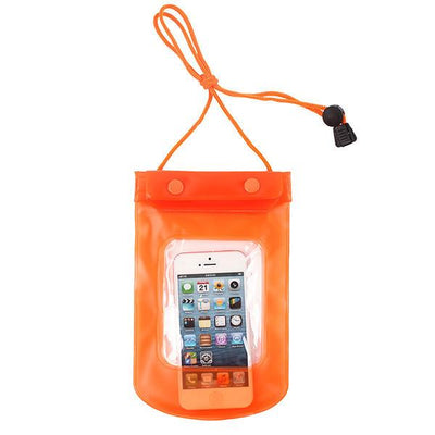 - 100% Sealed PVC Durable Waterproof Bag Phone Cases Pouch For iPhone 6 plus/6/5S/4S For Samsung S2/S3/S4/S5/S6/S7 EC138/EC723 - orange3  jetcube