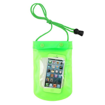 - 100% Sealed PVC Durable Waterproof Bag Phone Cases Pouch For iPhone 6 plus/6/5S/4S For Samsung S2/S3/S4/S5/S6/S7 EC138/EC723 - green3  jetcube